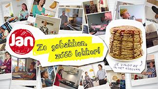 Jan Pannenkoeken – heel Nederland flipt!